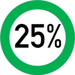 Kampagne 25%